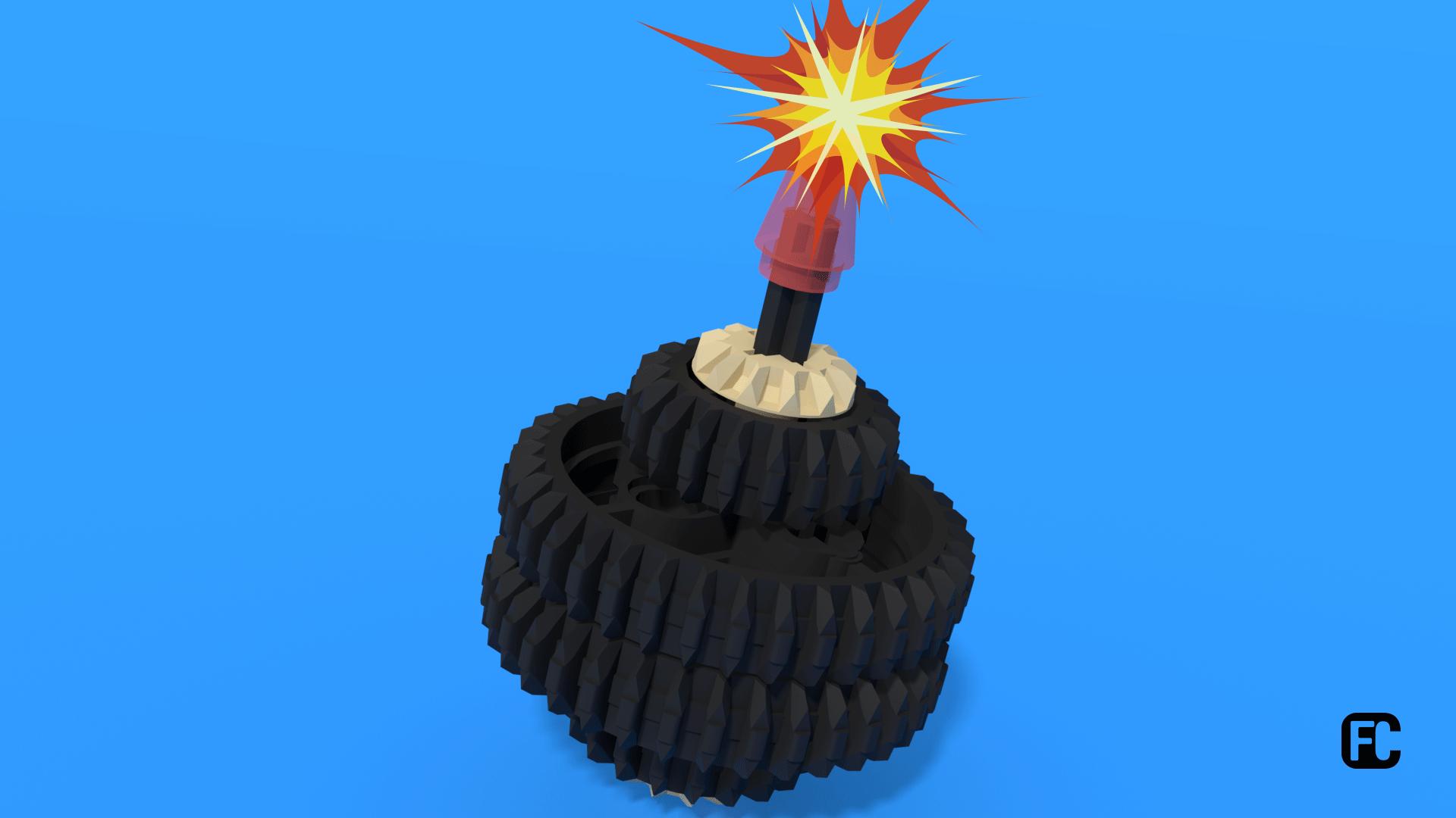 Lego Bomb