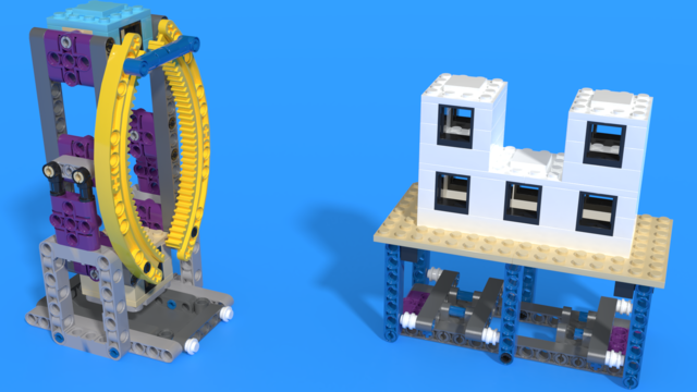 Image for Модели за мисии Elevator и Safety Factor от FIRST LEGO Лига 2019-2020 City Shaper