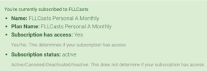 Subscription View
