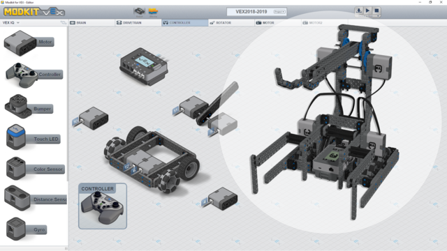 Image for Program for Winner - VEX IQ Competition Robot for the 2018-2019 Challenge.