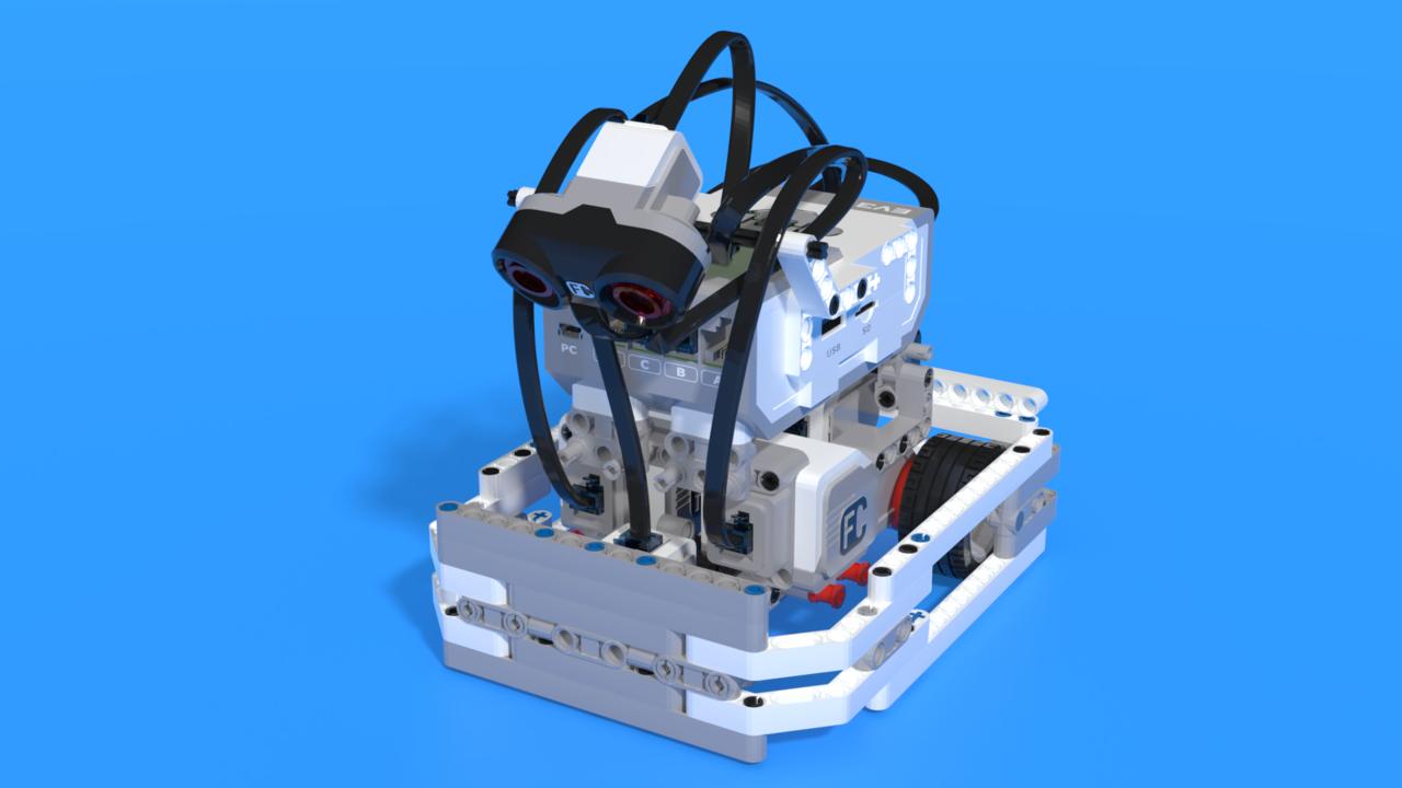 Image for Omusbot - LEGO Mindstorms EV3 sumo robot