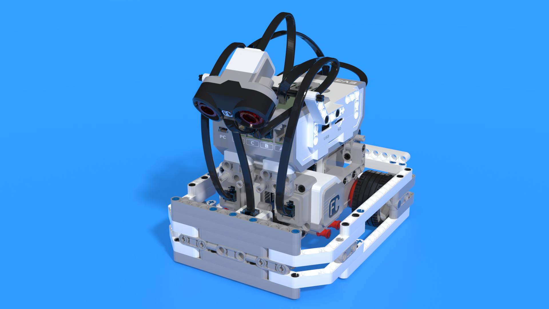 Omusbot - LEGO Mindstorms EV3 sumo robot