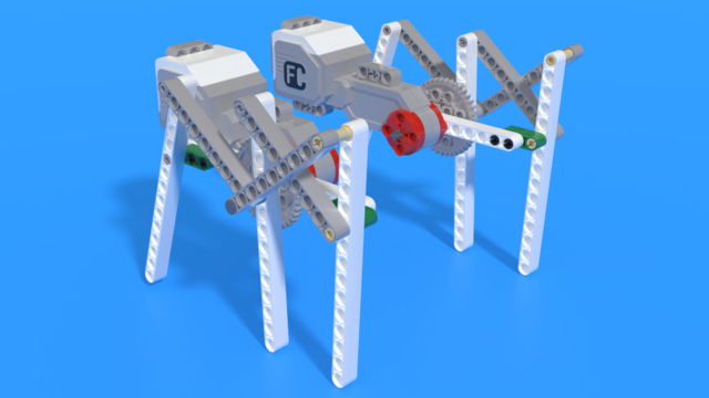 Image for Bug Legs made from LEGO Mindstorms EV3
