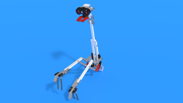 Image for Mantis Head and pincers from LEGO Mindstorms EV3