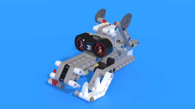 Image for Polar Bear Head from LEGO Mindstorms EV3