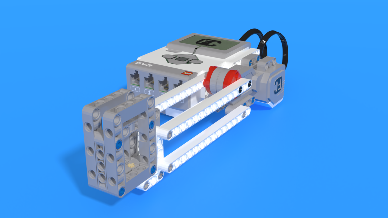 Image for Cup up and away - LEGO Mindstorms Cup lifting robot