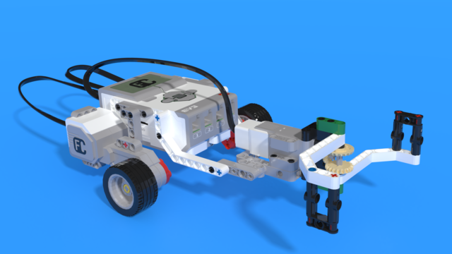 Image for Magazzino - a LEGO Mindstorms warehouse robot