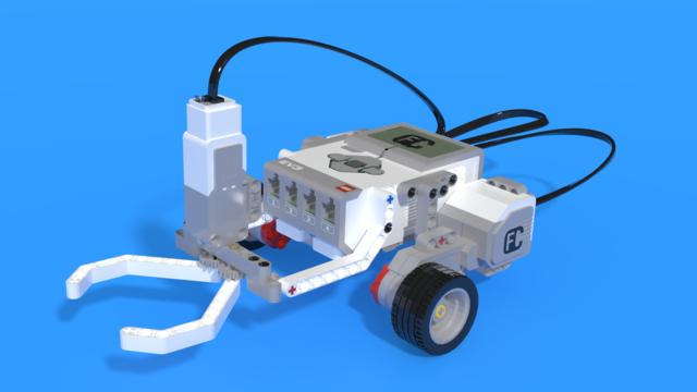 Image for Varasto - a LEGO Mindstorms EV3 warehouse robot