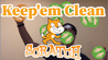 Image for Introduction to the Keep 'em clean - remote Scratch game course