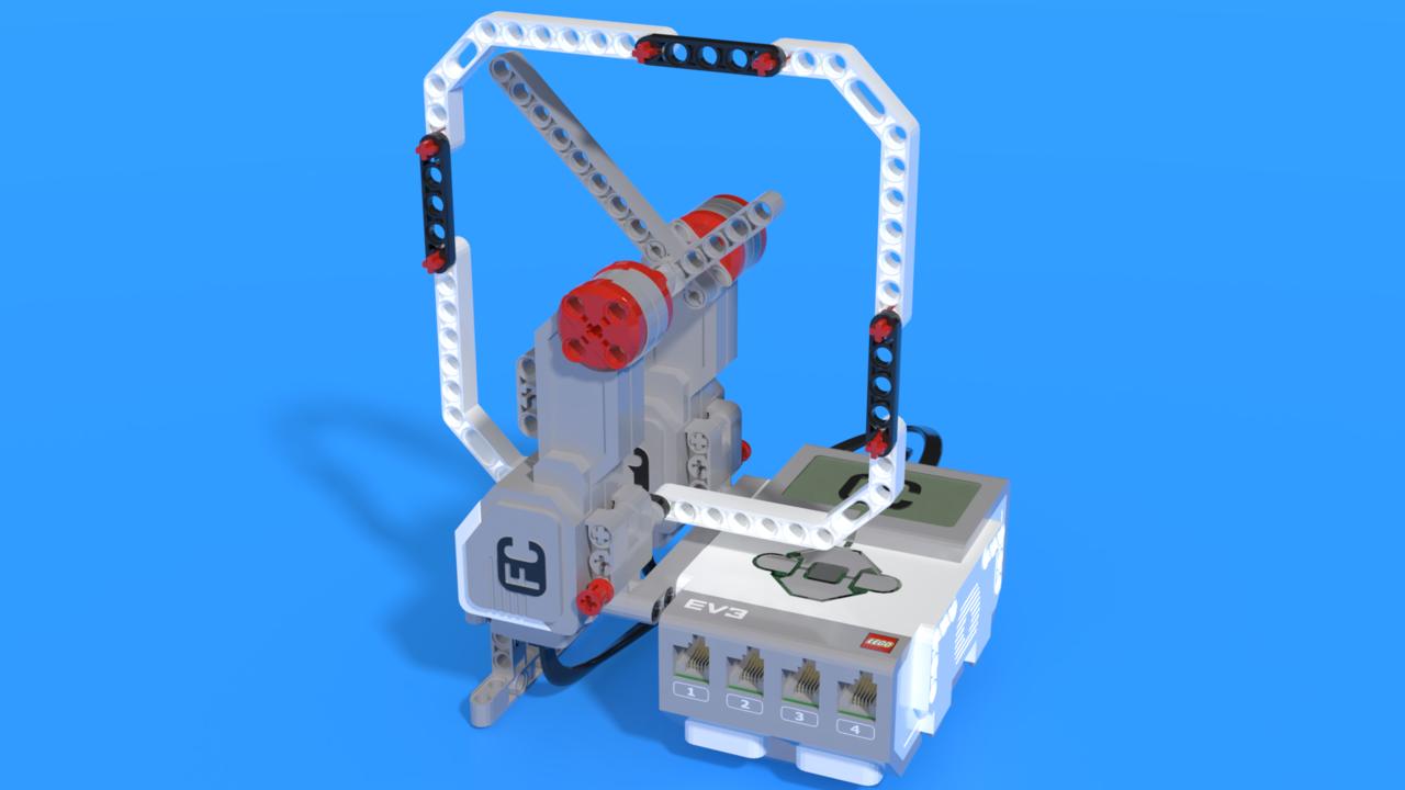 Image for Chronos - LEGO Mindstorms EV3 clock robot