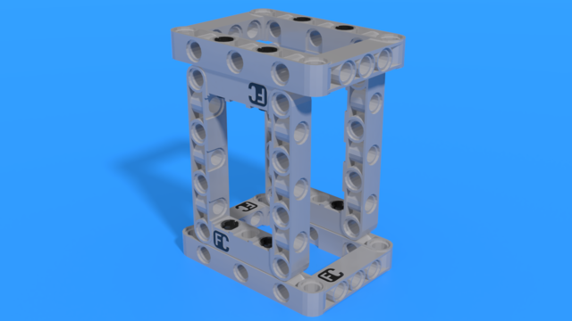 Image for LEGO Storage box with a long body