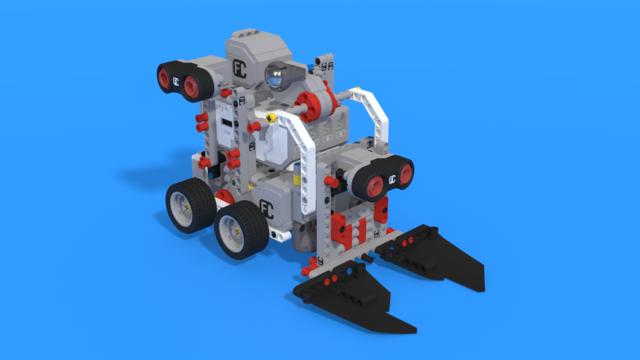 Image for Varna - a sumo Robot from LEGO Mindstorms EV3