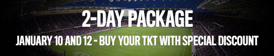 Florida Cup 2-Day Package. Buy you ticket with special discount!