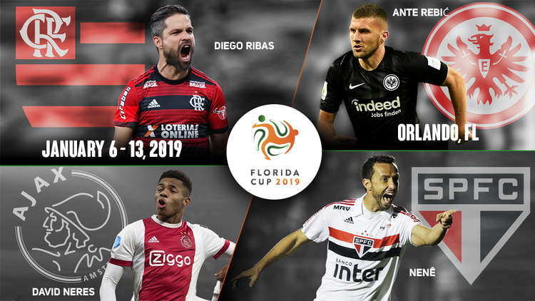 Florida Cup to Welcome Brazilian Powerhouse Flamengo and German Cup Winner Eintracht Frankfurt in 2019