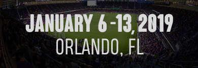 January 6 - 13, 2019 | Orlando, FL
