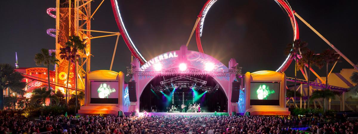 Music Plaza Stage at Universal Studios Florida