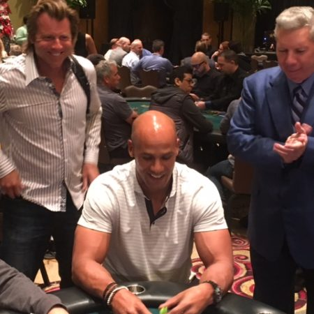 Jason Taylor Plays As Good At The Table As He Did On The Field