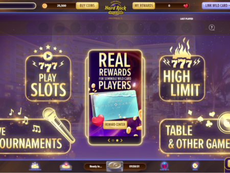 Hard Rock International and Seminole Gaming Debut Online Social Games