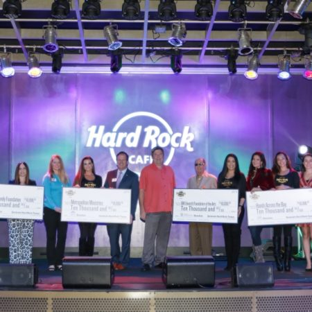 Seminole Hard Rock Hotel & Casino Tampa Donates $40,000 to Commemorate 15th Anniversary