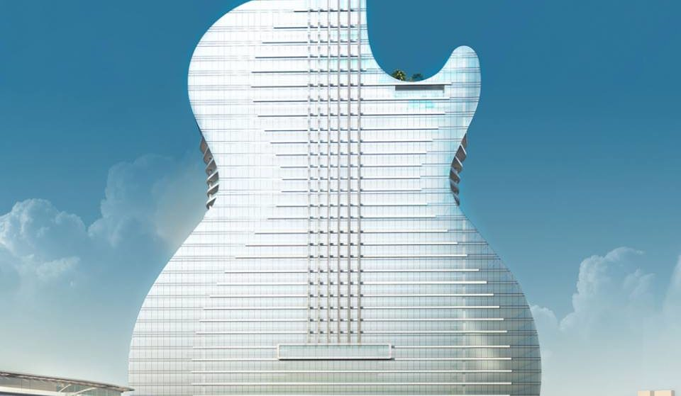 You Can Now Reserve A Room Inside This Guitar Shaped Hotel