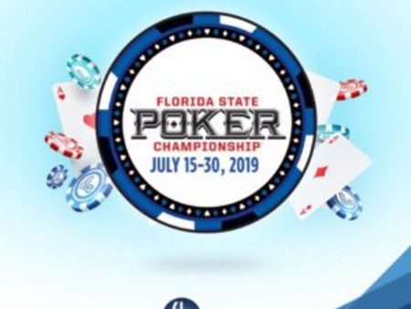 Who's In?  Pompano Park Casino Florida State Poker Championship 2019