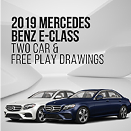 Seminole Hard Rock Hotel & Casino Hollywood Giving Away Two 2019 Mercedes-Benz E-Class Cars