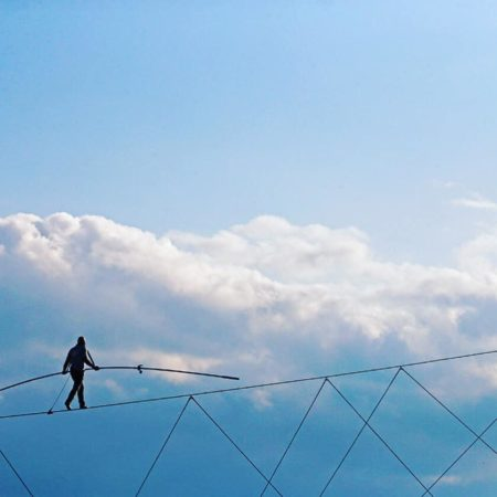 Nik Wallenda To Walk the High Wire At Seminole Hard Rock Tampa's Celebration