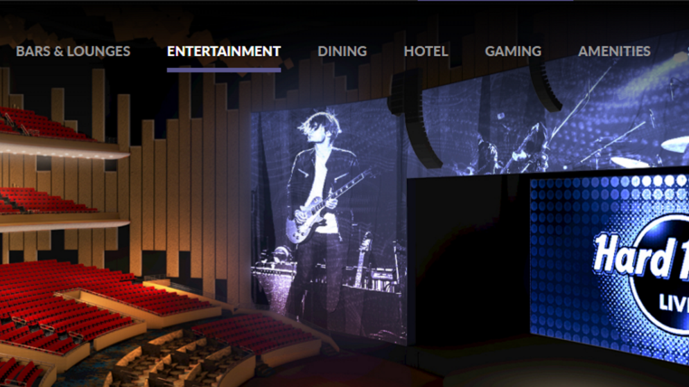 Entertainment Galore At The New Hard Rock Live
