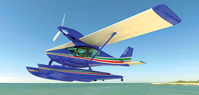 Vespas of the sky: Italigo Aviation LSA builds light sport aircraft