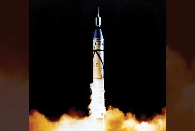 Rocket Launch 1958