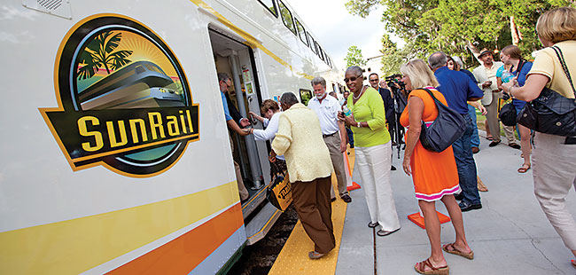 Central Florida gets a boost from SunRail