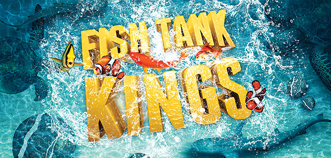 'Fish Tank Kings' brings new reality to Living Color Aquariums