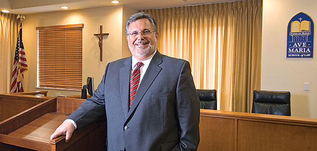 Stepping down at Ave Maria's School of Law