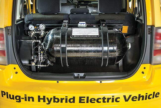 Hydrogen fuel tank