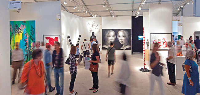 The business of art fairs