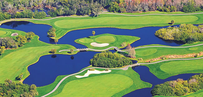 Driving for dough in Florida's golf resort industry