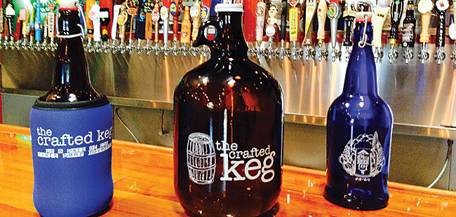 Battle brews over half-gallon 'growlers'
