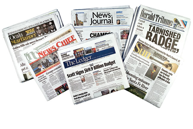 Flipping newspaper ownership