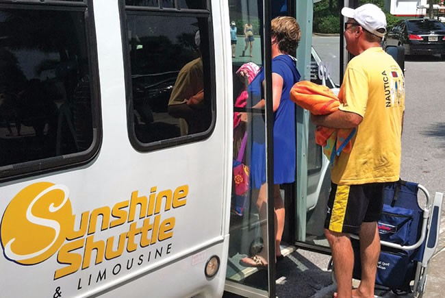 Solving a transportation problem along the northwest Florida coast
