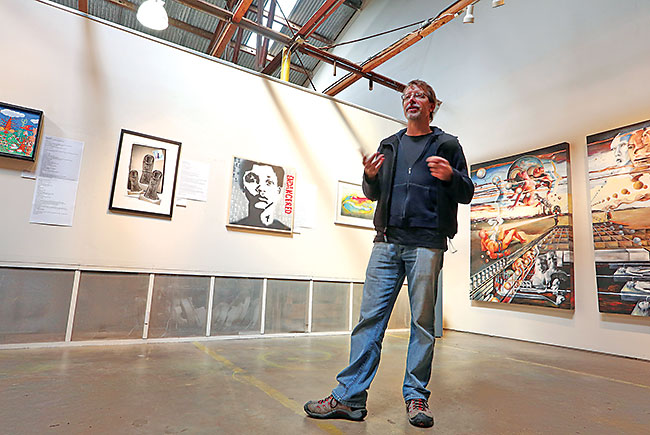 An artists' draw: The Warehouse Arts District