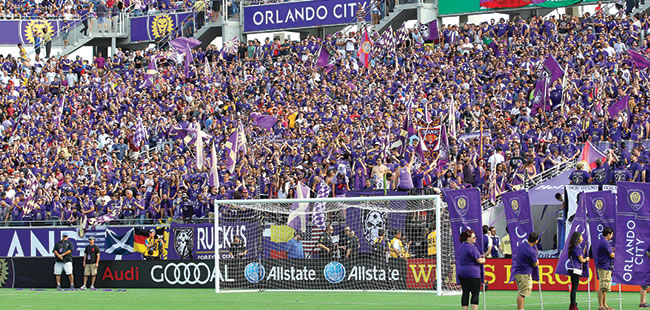 Goal! Orlando's pro soccer team forgoes public funding for a new stadium