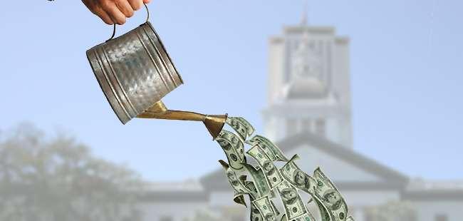 Florida lawmakers' 'sprinkle fund'