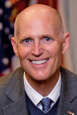 Rick Scott, Governor