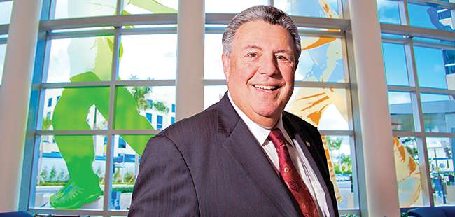 Leaving on top: CEO Frank Sacco steps aside as Memorial Healthcare System steps up its game
