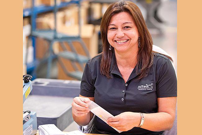 Alba Gil, Arthrex employee