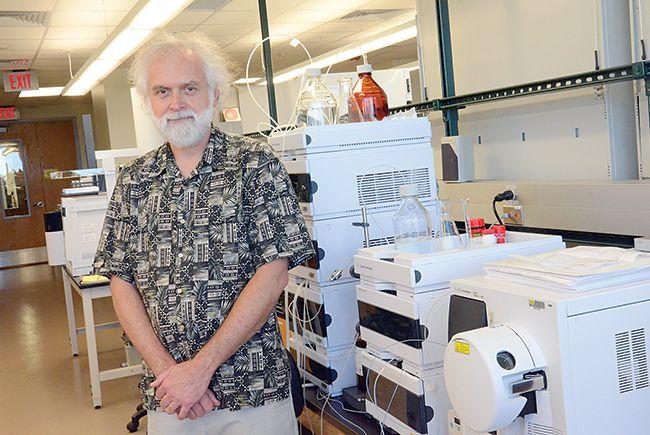 Professor Bill Baker of USF