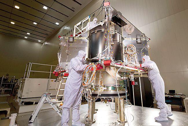 Asteroid mining device OSIRIS-REx