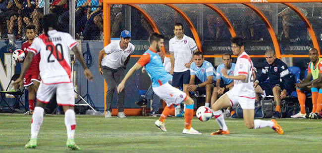 Quick start for Miami FC soccer team