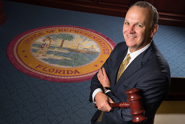 Heavy Hitter: Florida Speaker Richard Corcoran wields power