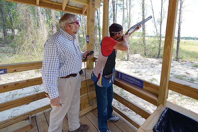 Long range plan: Florida Fish and Wildlife Conservation Commission opens a shooting range